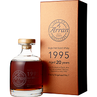 Arran 1995 20 years old Anniversary Decanter