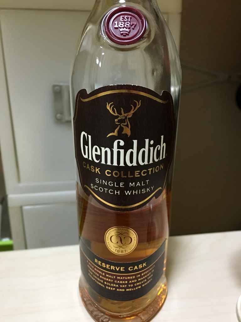 Glenfiddich Cask Collection Reserve Cask
