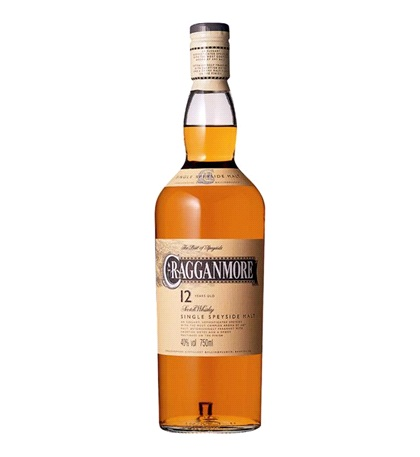 CRAGGANMORE 12years old
