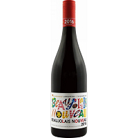 Laboure-Roi Beaujolais Nouveau 2016 TOMORROWLAND Label