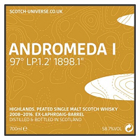 Scotch Universe Andromeda I 97° LP.1.2' 1898.1""