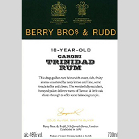 Berrys' Own Selection Caloni Trinidad Rum 1997