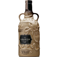Kraken Black Spiced Rum Ceramic Bottle