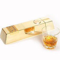 Gold Bar Gold Finished Whiskey