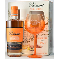 Clement Rhum Creole Shrubb Glass Set