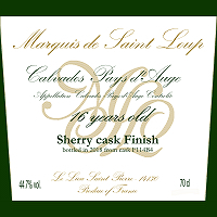 Marquis de Saint Loup 16Years Old Sherry Cask Finish for THREE RIVERS