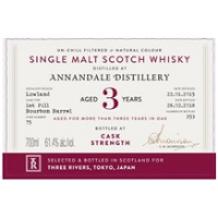 AD Rattray Cask Collection Annandale 2015 for Three Rivers