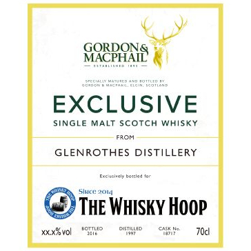 The Whisky Hoop Gordon & Macphail Glenrothes 1997