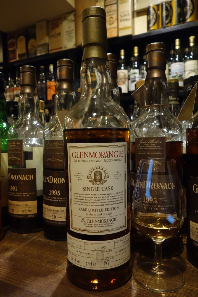 GLENMORANGIE 1994-2005 11yo OB SINGLE CASK #1385