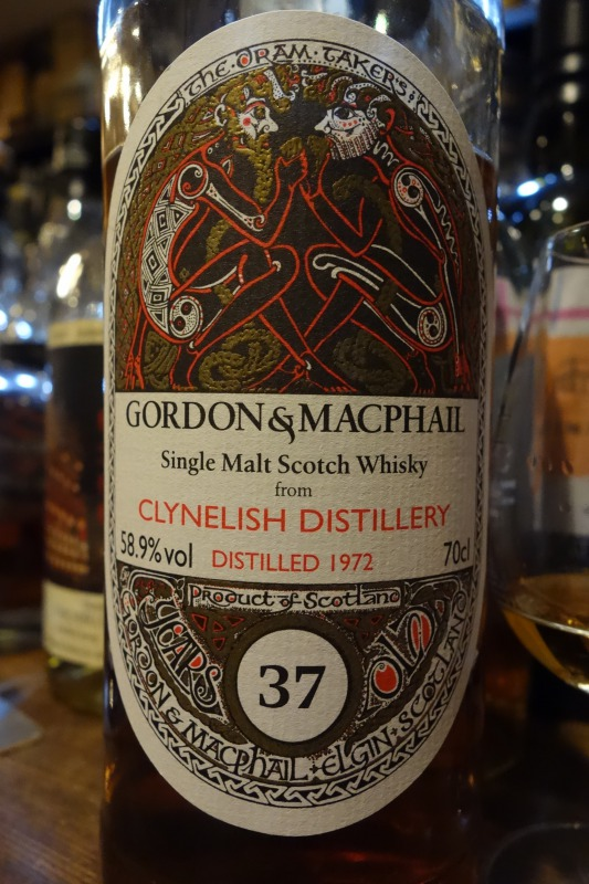 クライヌリッシュ CLYNELISH 1972-2010 37yo GM Celtic Label for La Maison du Whisky #14300
