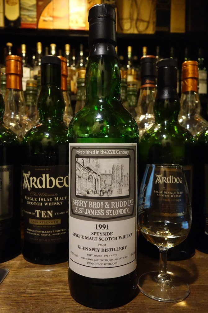 GLRNSPEY 1991-2015 BBR for La Maison du Whisky #800331