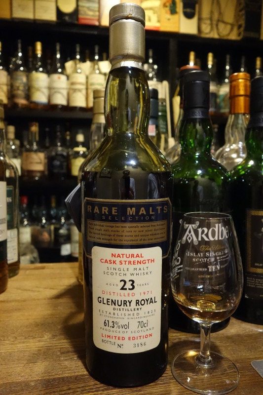 GLENURY ROYAL 1971 23yo OB RARE MALTS SELECTION 61.3%