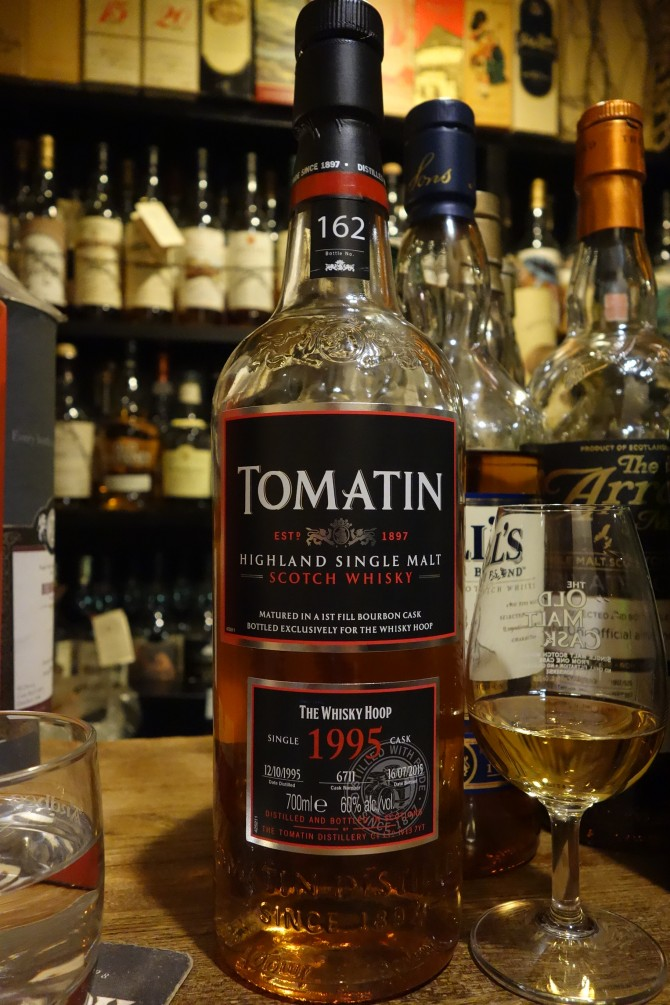 TOMATIN 1995-2015 19yo OB for THE WHISKY HOOP #6711