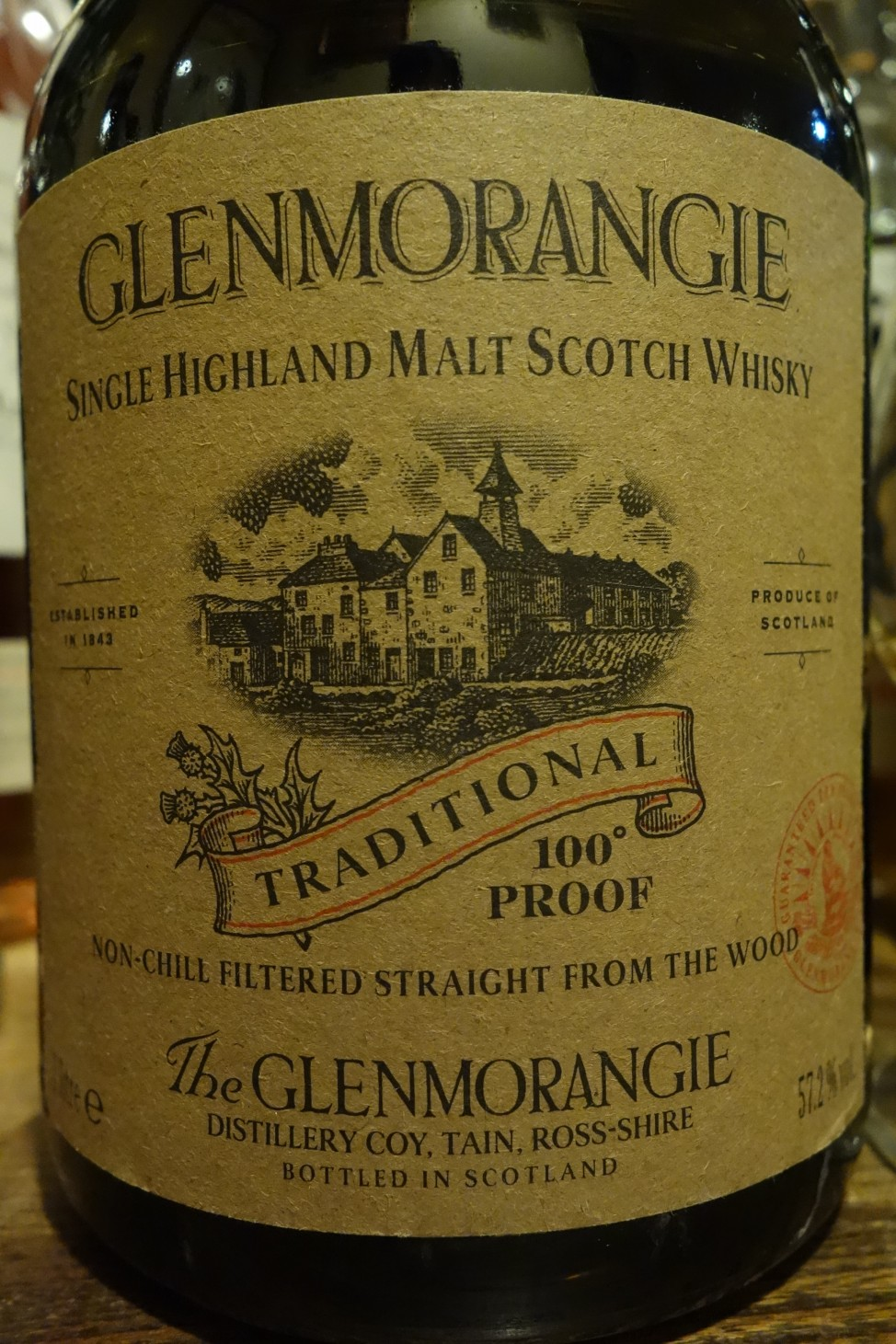 "グレンモーレンジ GLENMORANGIE 10yo OB ""TRADITIONAL"""