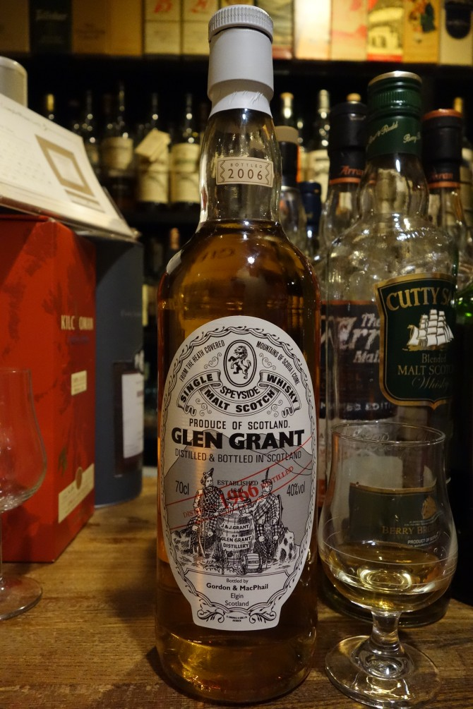 GLENGRANT 1966-2006 GM Distillery Labels 40%
