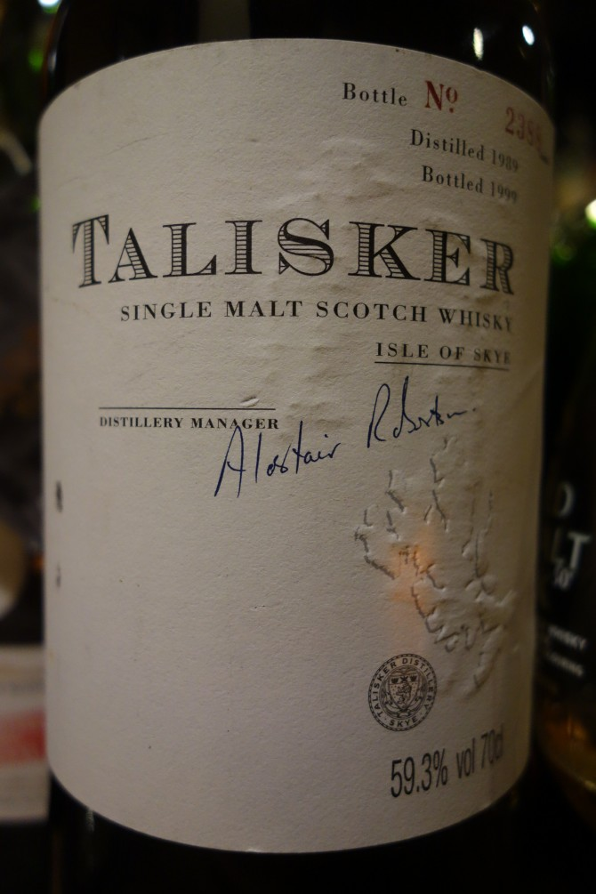 タリスカー TALISKER 1989-1999 OB for FRIENDS OF THE CLASSIC MALTS