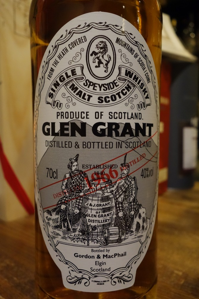 グレングラント GLENGRANT 1966-2006 GM Distillery Labels 40%