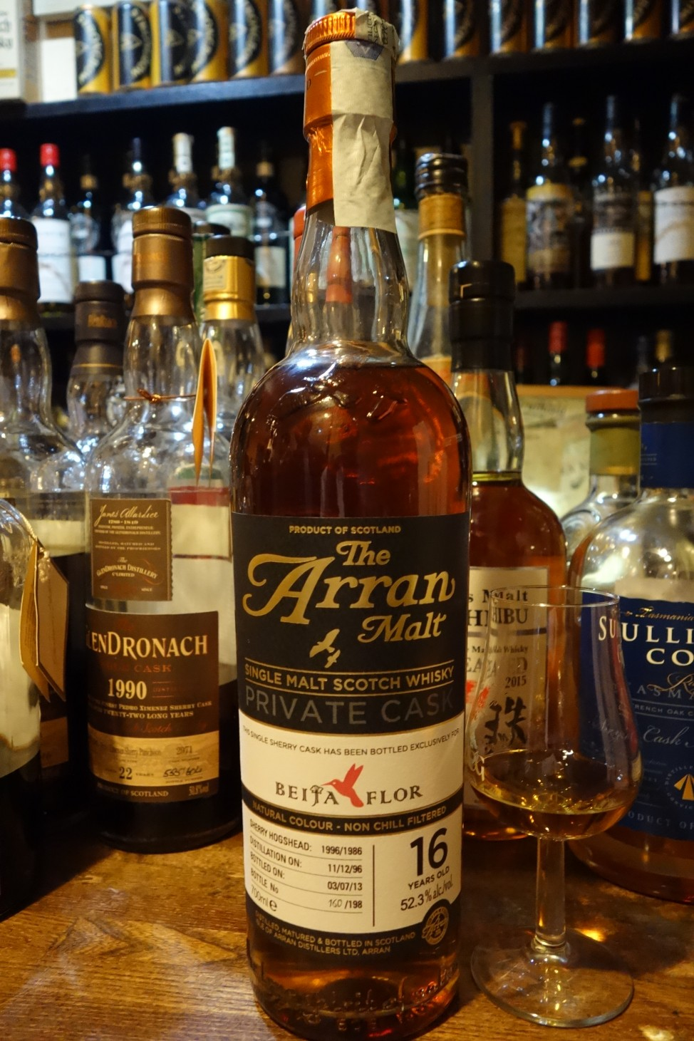 ISLE OF ARRAN 1996-2013 16yo OB for BEIJA FLOR #1996/1986