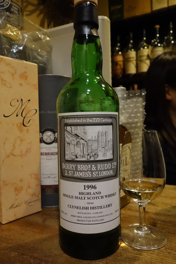 CLYNELISH 1996-2015 BBR for La Maison du Whisky #6423