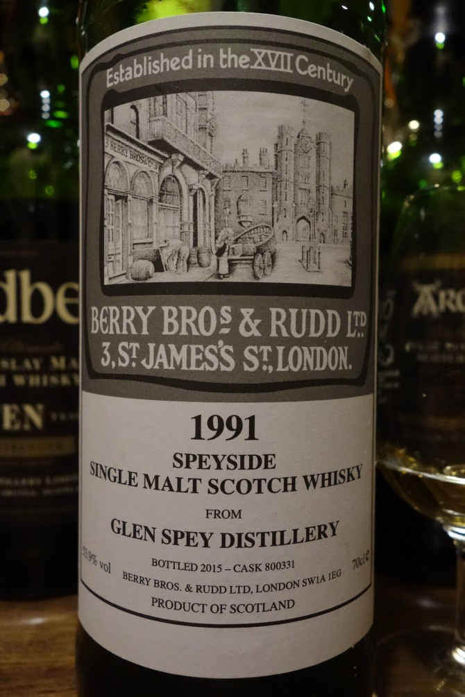 グレンスペイ GLRNSPEY 1991-2015 BBR for La Maison du Whisky #800331