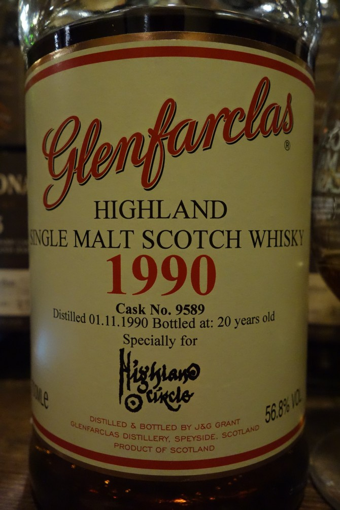 グレンファークラス GLENFARCLAS 1990 20yo OB for HIGHLAND ?? #9589