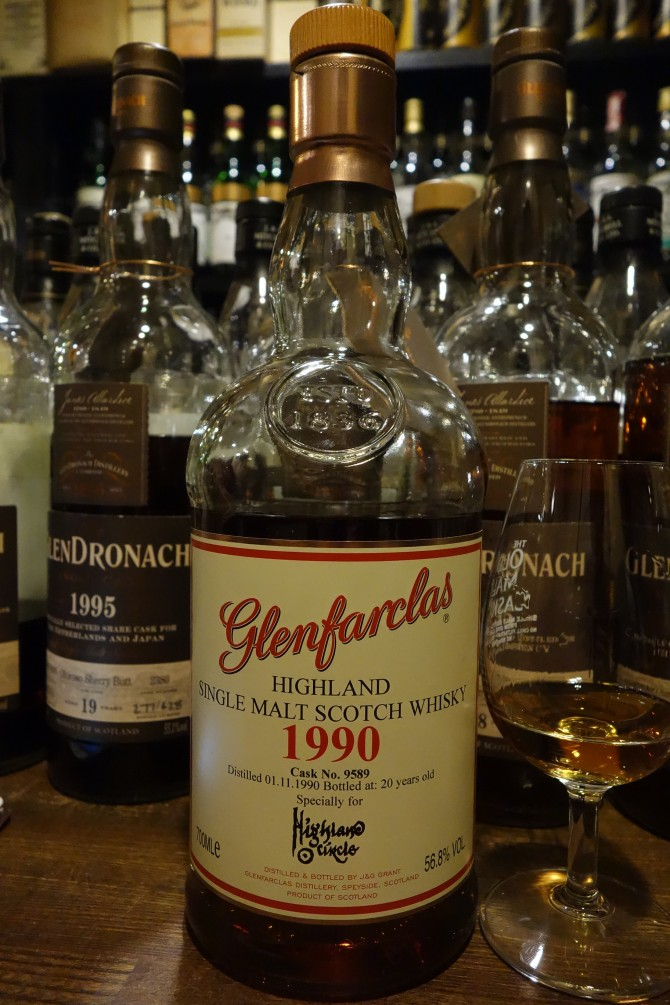 GLENFARCLAS 1990 20yo OB for HIGHLAND ?? #9589