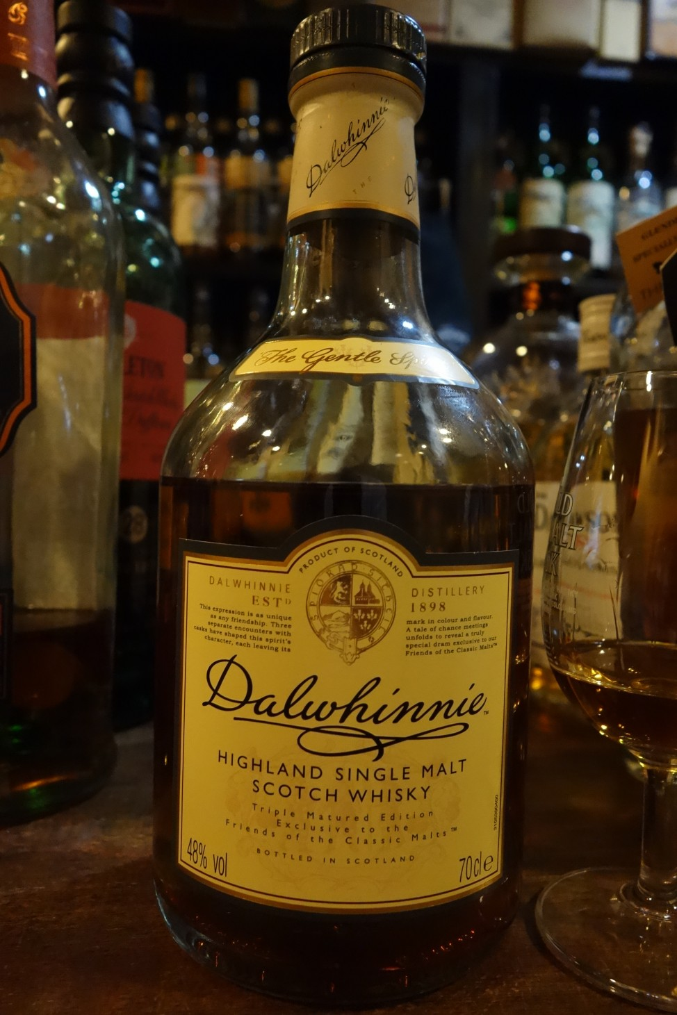 "DALWHINNIE OB ""Triple Matured Edition"" for Friends of Classic Malts"