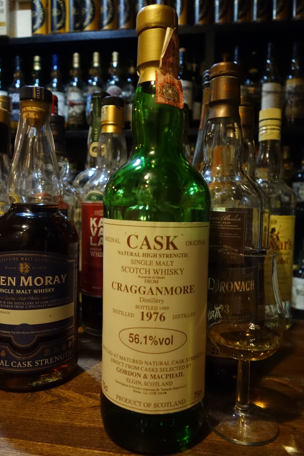 GRAGGANMORE 1976-1989 GM CASK for SESTANTE