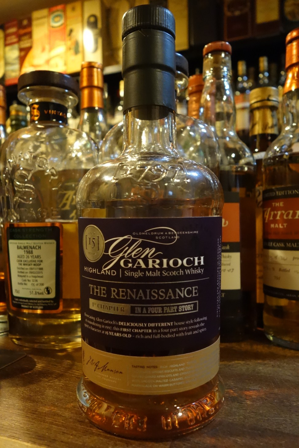 "GLENGARIOCH 15yo OB ""THE RENAISSANCE"" 1st CHAPTER IN A FOUR PART STORY"