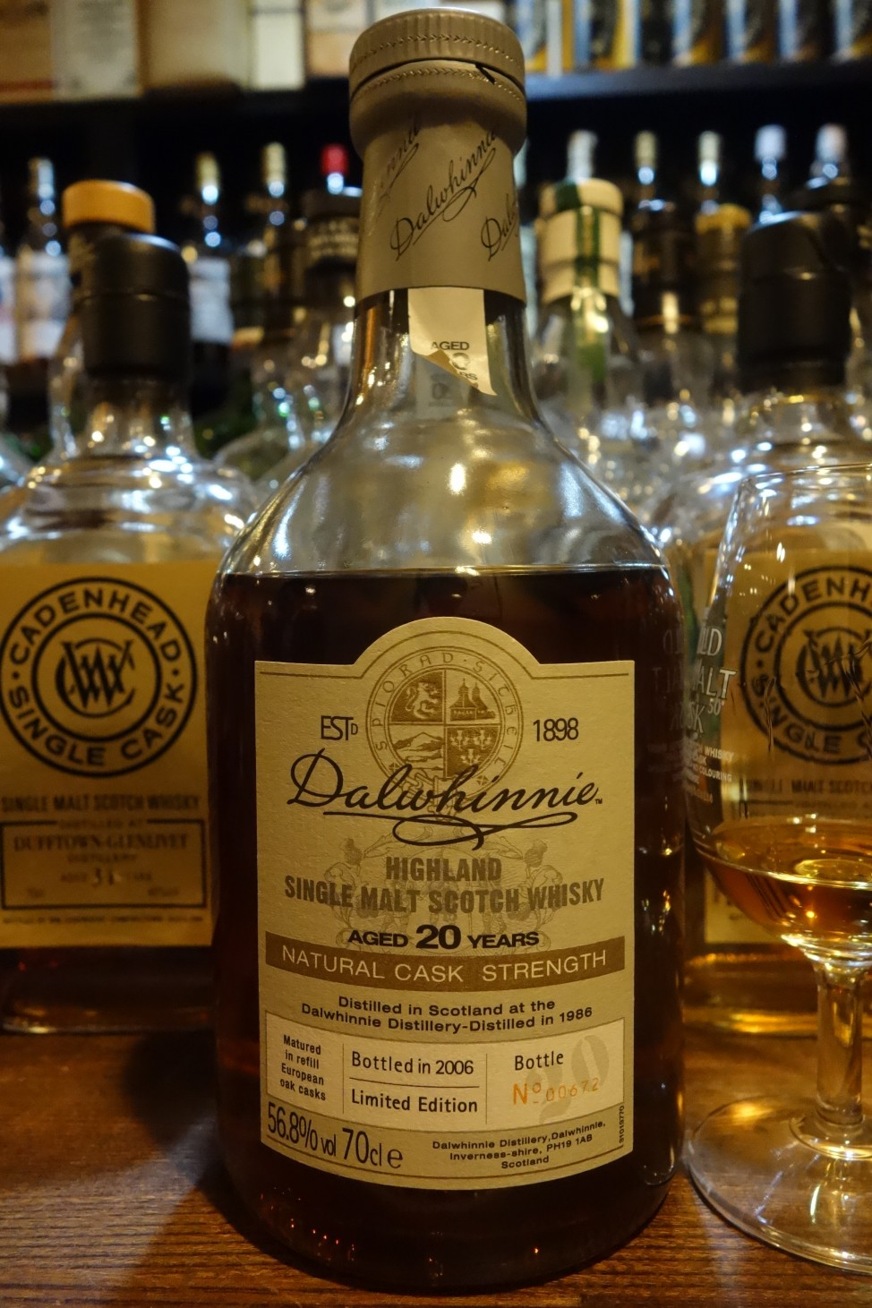 DALWHINNIE 1986-2006 20yo OB Limited Edition