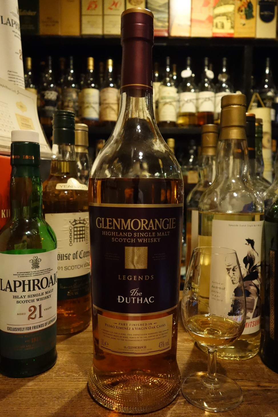 "GLENMORANGIE OB ""The DUTHAC"" LEGENDS"