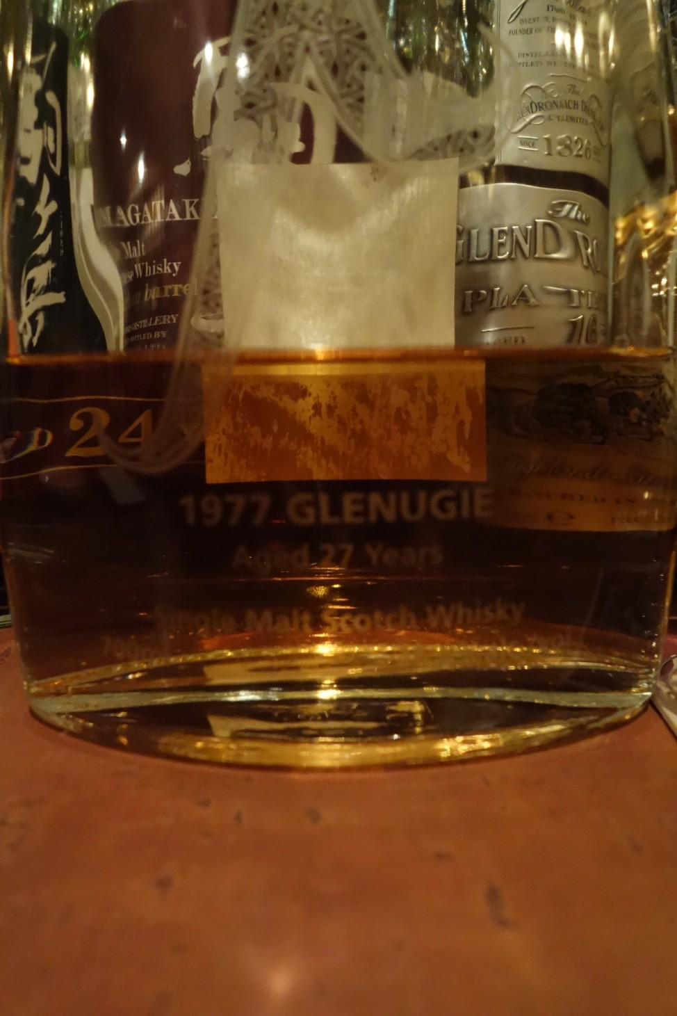 GLENUGIE 1977 27yo CELTIC HEARTLANDS