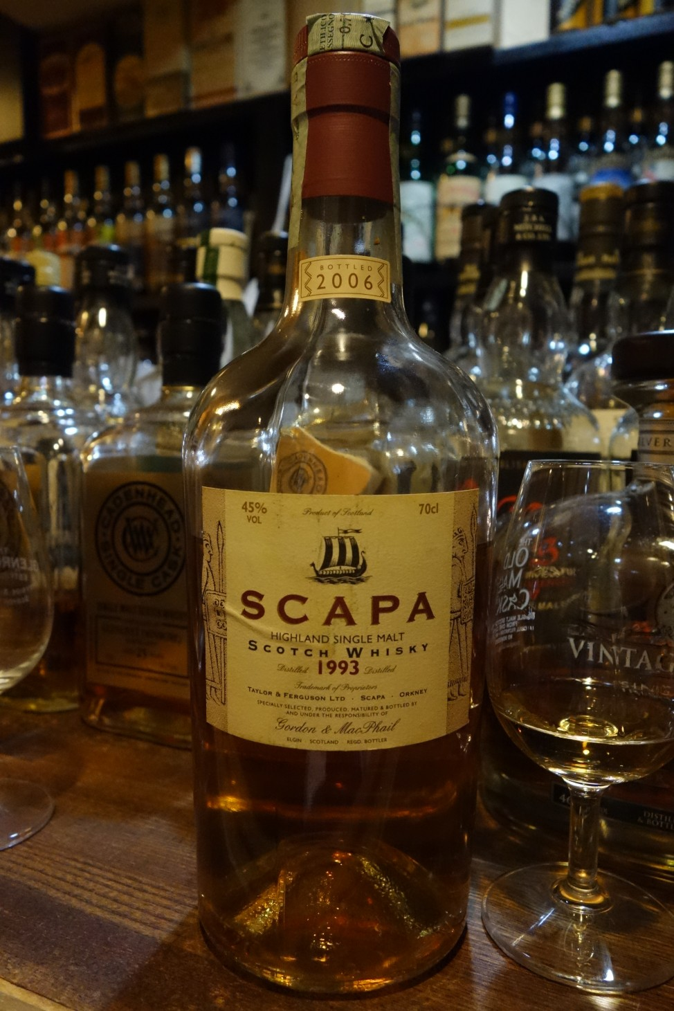スキャパ SCAPA 1993-2006 GM Distillery Labels (2)