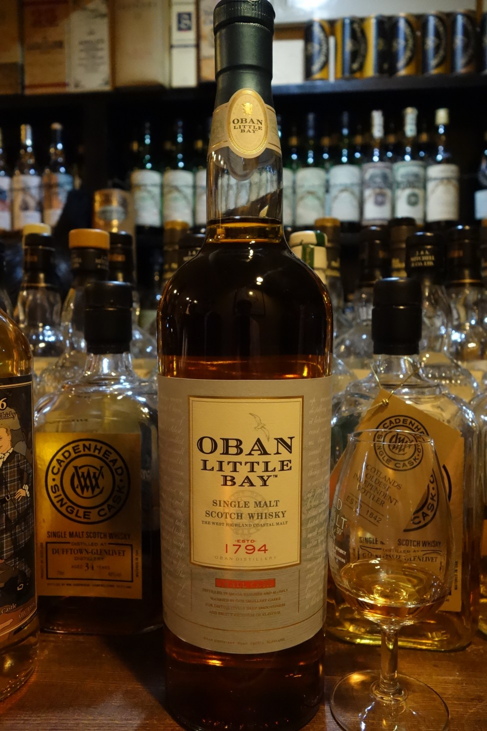 "OBAN OB ""LITTLE BAY"" for Duty Free"