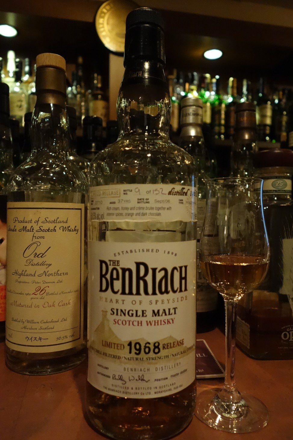 ベンリアック BENRIACH 1968-2006 37yo OB for TAIWAN #2710 (2)