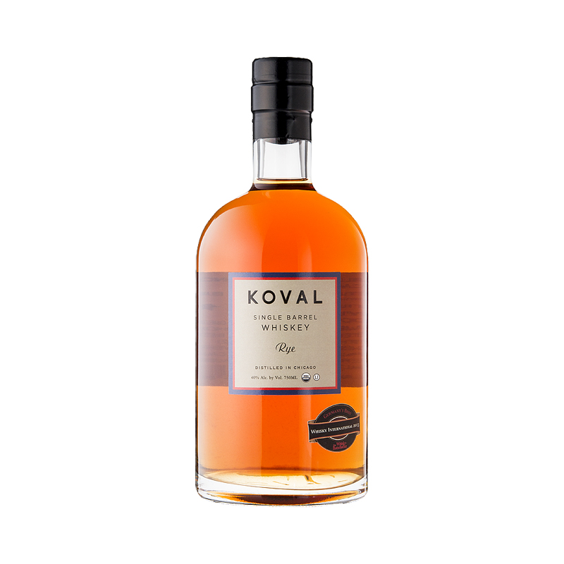 KOVAL Rye Single Barrel Whiskey 40%