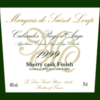 Marquis de Saint Loup 1999 Sherry Cask Finish for THREE RIVERS