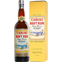 LMDW & VELIER Caroni 18Year Old 100th Anniversary Replica Bottle