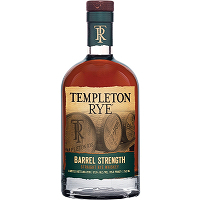 Templeton Rye Barrel Strength Limited Release 2019