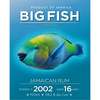 Big Fish Jamaican Rum 2002