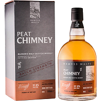 Wemyss Blended Malt Peat Chimney Batch Strength002