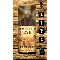 Templeton Rye Aged 4 Years with Whiskey Stone