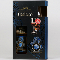 Ron Malteco 10 years Gift Set with Glasses