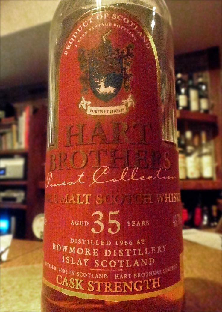Bowmore 1966-2001 35yo Hart Brothers  Finest Collection