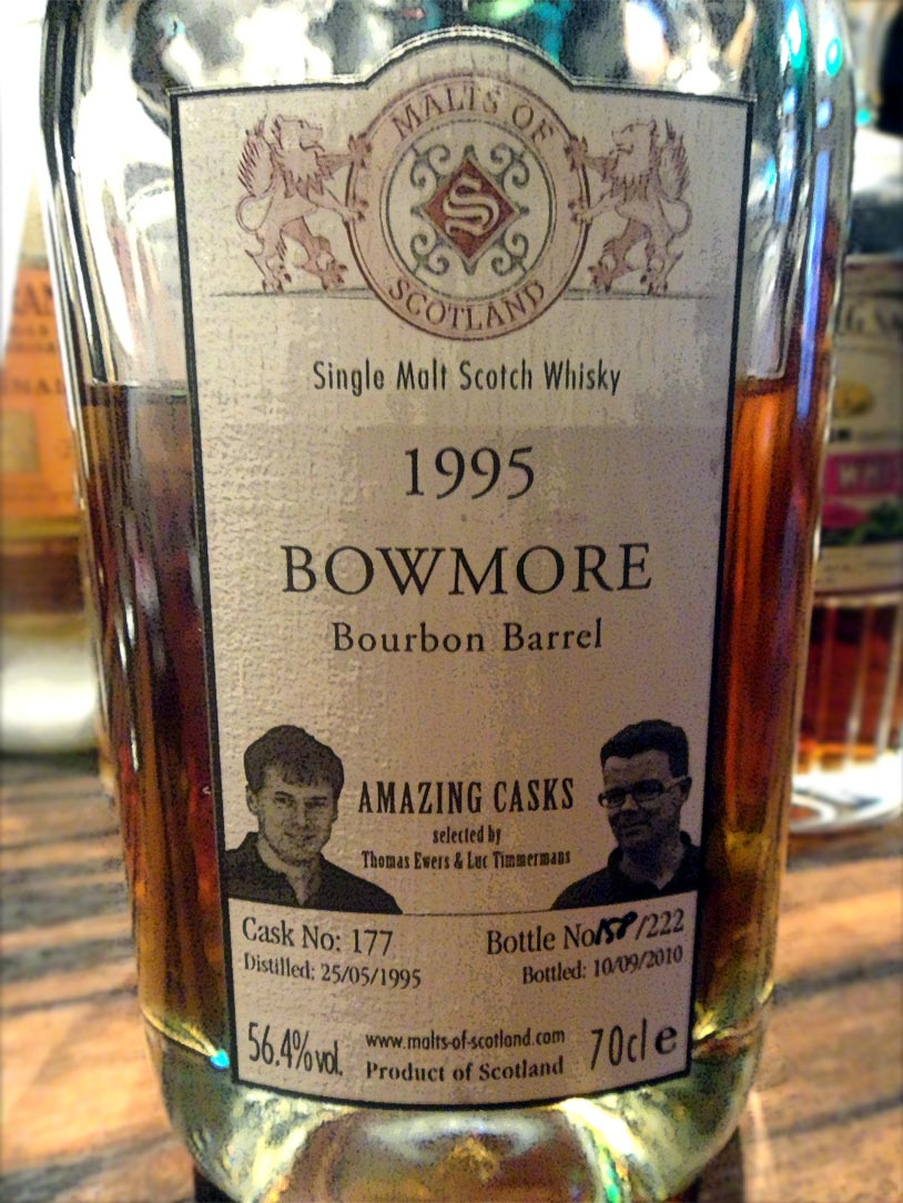 Bowmore 1995-2010 Malts of Scotland Amazing Casks