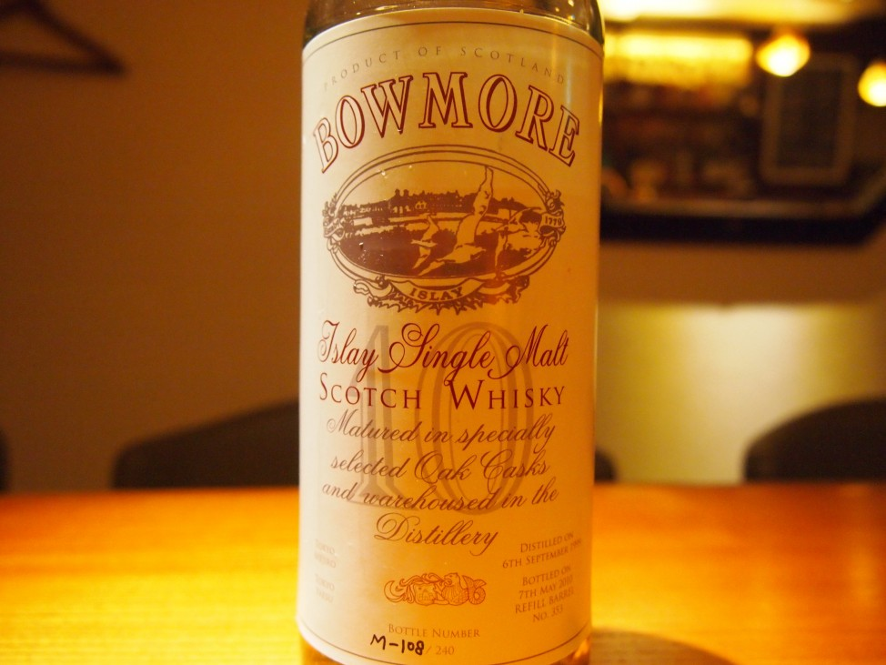 BOWMORE 10YEARS OLD 目白×八重洲