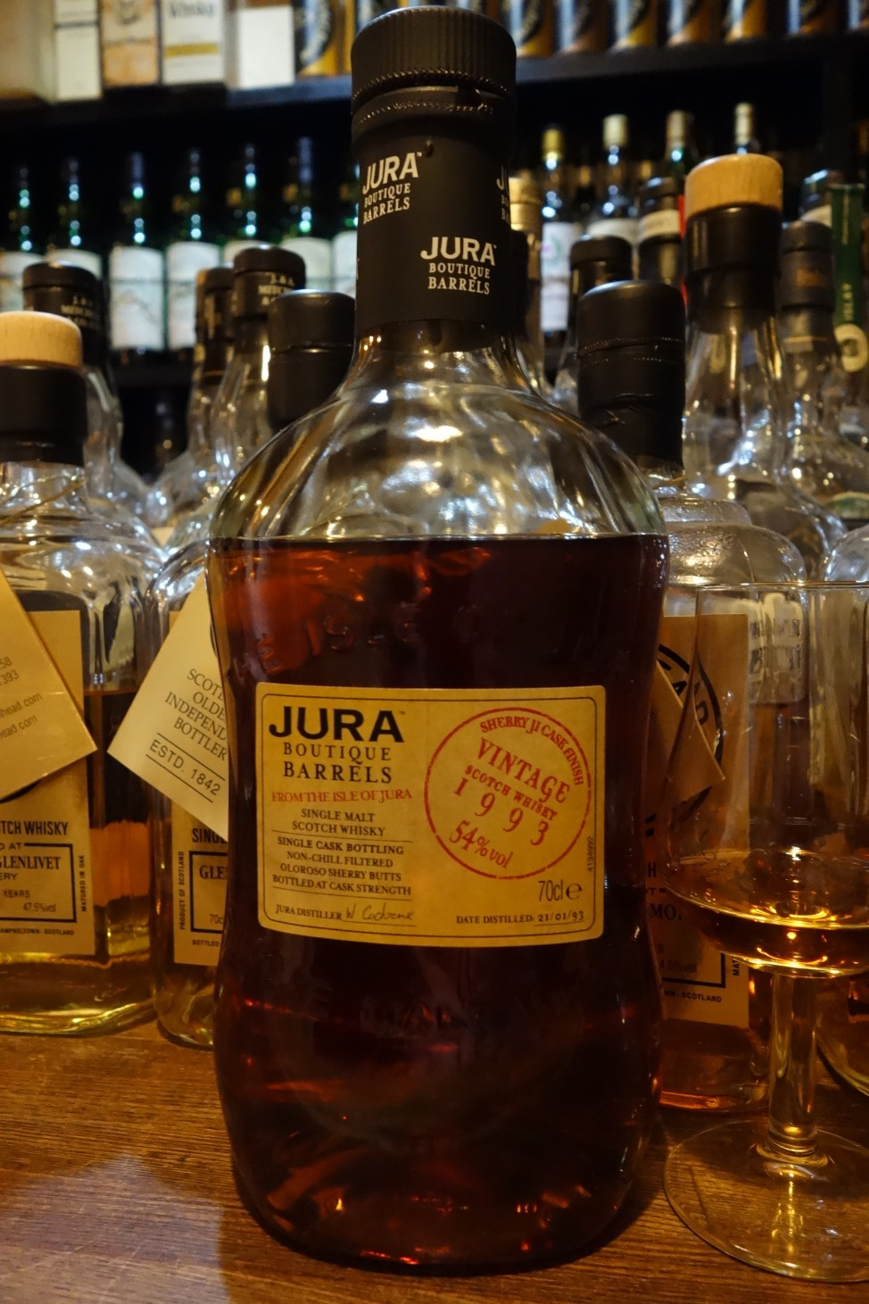 ISLE OF JURA 1993 OB BOUTIQUE BARRELS