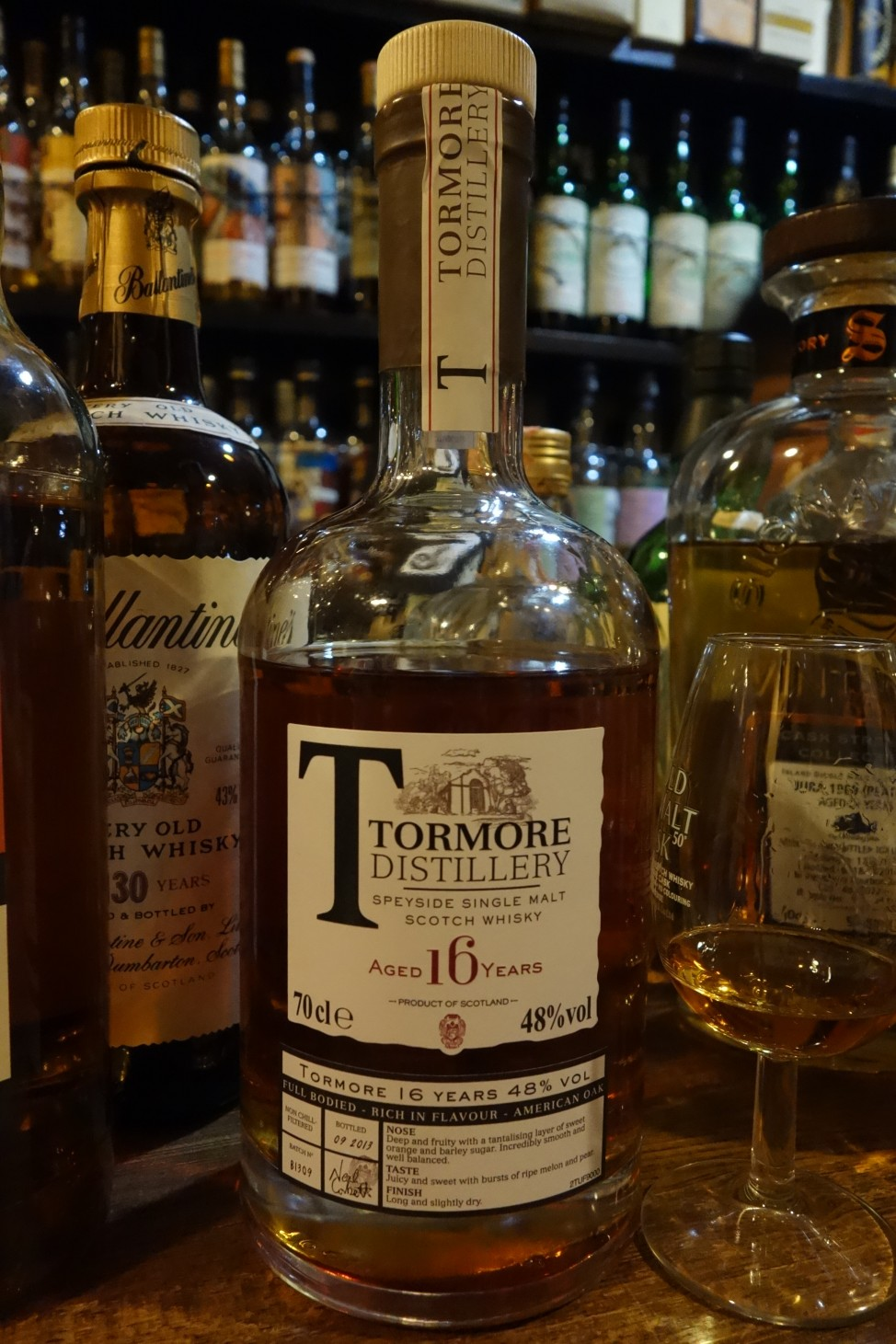 TORMORE 16yo OB Batch No.B1309
