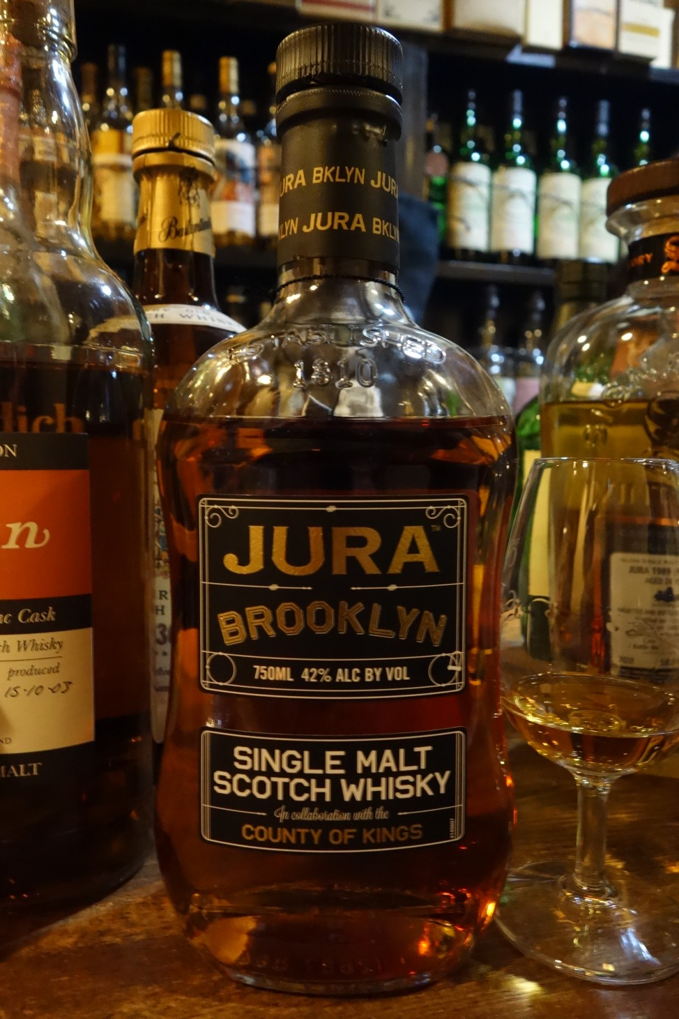 "ISLE OF JURA OB ""BROOKLYN"" In collaboration with the COUNTY OF KINGS"