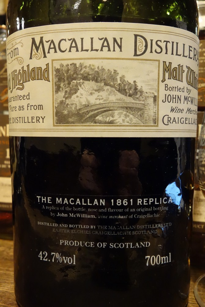 マッカラン MACALLAN OB 1861 REPLICA